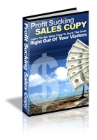 Thumbnail Profit Sucking Sales Copy - With Master Resale Rights