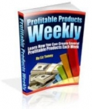 Thumbnail Profitable Products Weekly - With Master Resell Rights
