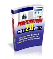 Thumbnail Profiting From Web 2.0 Sites - With Private Label Rights