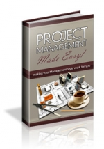 Thumbnail Project Management Made Easy! With Master Resale Rights