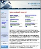 Thumbnail Public Records Website - With Private Label Rights