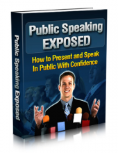 Thumbnail Public Speaking Exposed - With Master Resell Rights