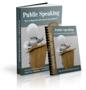Thumbnail Public Speaking - With Private Label Rights