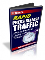 Thumbnail Rapid Press Release Traffic - With Master Resale Rights