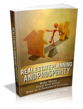 Thumbnail Real Estate Planning And Prosperity - With Master Resale Rights