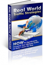 Thumbnail Real World Traffic Strategies - With Master Resale Rights