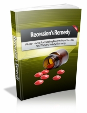 Thumbnail Recession's Remedy - With Master Resell Rights