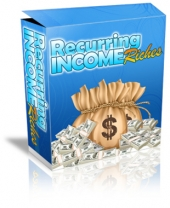 Thumbnail Recurring Income Riches - With Master Resale Rights