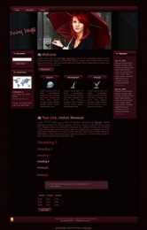 Thumbnail Red Rain Theme - With Master Resale Rights