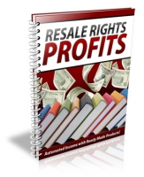 Thumbnail Resale Rights Profits - With Master Resale Rights