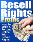 Thumbnail Resale Rights Profits - With Master Resell Rights