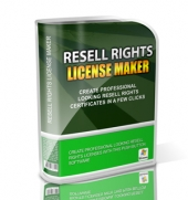 Thumbnail Resell Rights License Maker - With Master Resell Rights