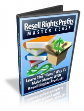 Thumbnail Resell Rights Profits Master Class - With Resell Rights