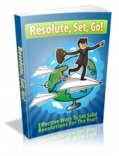 Thumbnail Resolute, Set, Go! - With Master Resale Rights