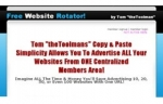 Thumbnail Free Website Rotator! - With Master Resale Rights