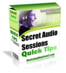 Thumbnail Secret Audio Sessions Quick Tips - With Giveaway Rights
