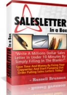 Thumbnail SalesLetter In A Box - With Private Label Rights