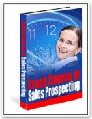 Thumbnail A Crash Course in Modern Sales Prospecting - With Resell Rights