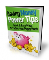 Thumbnail Saving Money Power Tips - With Master Resale Rights