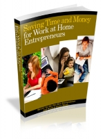 Thumbnail Saving Time And Money For Work At Home Entrepreneurs - With Private Label Rights