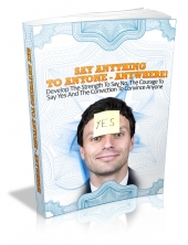 Thumbnail Say Anything To Anyone - Anywhere! - With Master Resale Rights