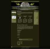Thumbnail Scary Halloween WP Theme - With Master Resale Rights