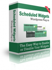 Thumbnail Scheduled Widgets WordPress Plugin - With Personal Use Rights