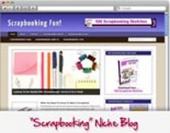 Thumbnail Scrap Booking WordPress Niche Blog - With Personal Use Rights