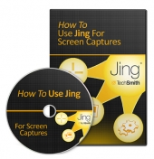 Thumbnail How To Use Jing For Screen Captures - With Master Resell Rights