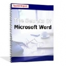 Thumbnail The Secrets Of Microsoft Word - With Resell Rights