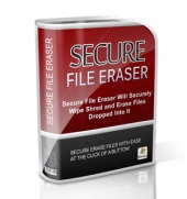Thumbnail Secure File Eraser - With Master Resell Rights