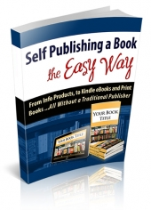 Thumbnail Self Publishing A Book The Easy Way - With Personal Use Rights