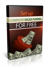 Thumbnail Set Up A Complete Sales Funnel For Free - With Master Resell Rights