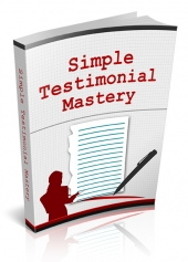 Thumbnail Simple Testimonial Mastery - With Master Resell Rights