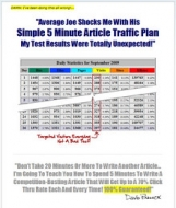 Thumbnail Simple 5 Minute Article Traffic Plan - With Master Resale Rights