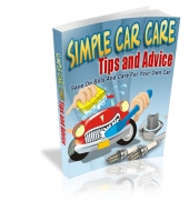 Thumbnail Simple Car Care Tips And Advice - With Master Resale Rights