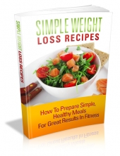 Thumbnail Simple Weight Loss Recipes - With Master Resell Rights