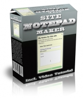 Thumbnail Site Notepad Maker - With Master Resell Rights