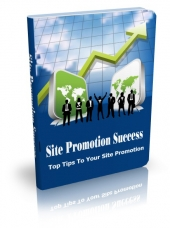 Thumbnail Site Promotion Success - With Master Resell Rights