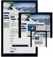 Thumbnail Skiing - WP Theme - With Master Resale Rights
