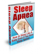 Thumbnail Sleep Apnea - With Private Label Rights