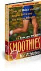 Thumbnail Smoothies for Athletes - With Resell Rights