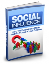 Thumbnail Social Influence - With Master Resell Rights