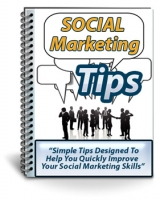 Thumbnail Social Marketing Tips - With Private Label Rights
