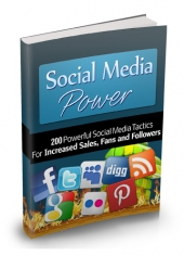 Thumbnail Social Media Power - With Master Resell Rights