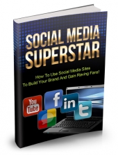 Thumbnail Social Media Superstar - With Master Resell Rights