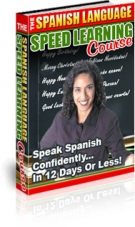Thumbnail The Spanish Language Speed Learning Course - With Private Label Rights