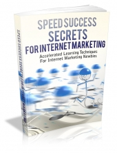 Thumbnail Speed Success Secrets For Internet Marketing - With Master Resale Rights
