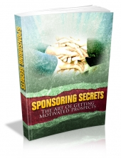 Thumbnail Sponsoring Secrets - With Master Resale Rights