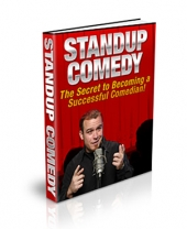 Thumbnail Stand-up Comedy - PLR - With Private Label Rights